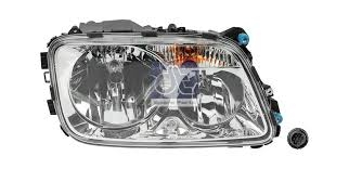 Headlamp RHS - Mercedes Actros