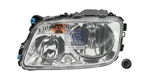 Headlamp LHS - Mercedes Actros