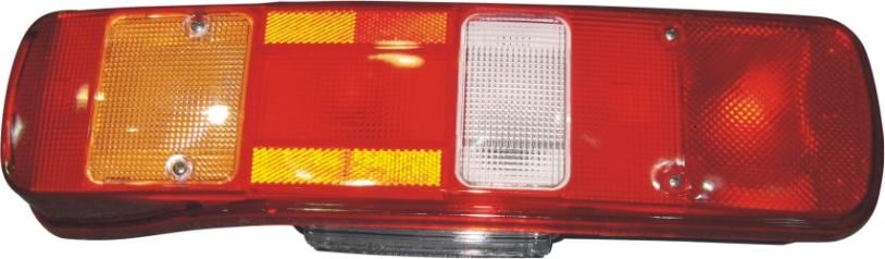 Rear Lamp LHS With Socket & No. Plate Lamp - Volvo FH, FM