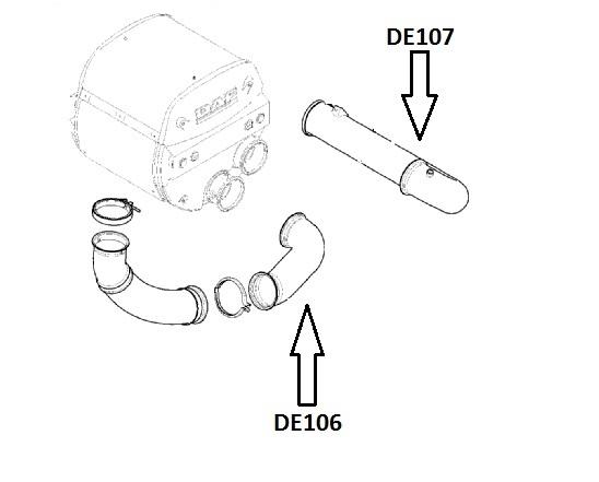Daf Engine, Radiator & Exhaust Parts